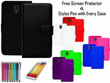 Premium Leather Pu Wallet Flip Case Covers Card Holder For Samsung Galaxy Note 3