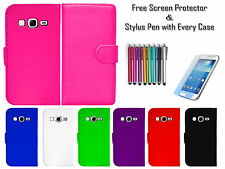 Premium Leather Pu Wallet Flip Case Covers Holder For Samsung Galaxy Express 2