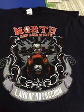 HELLS ANGELS NORTH CA LINCOLN 81 SUPPORT SHIRT
