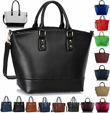 Womens Handbag Leather Oversized Ladies Large Shoulder Bag Tote Shopper Designer