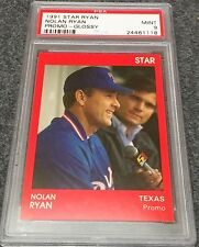 1991 Star Red Glossy Promo Nolan Ryan PSA 9