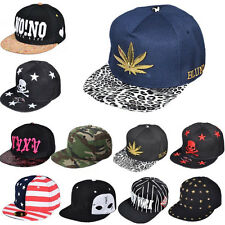 Fashion Unisex Women Men Girls Snapback Adjustable Baseball Cap Hip Hop Hats