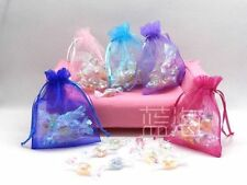 7X9 CM LUXURY ORGANZA WEDDING FAVOUR CHRISTMAS GIFT CANDY BAGS JEWELRY POUCHES K