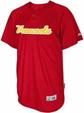 Venezuela Majestic 2013 World Baseball Classic Authentic Batting Practice Jersey