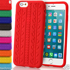 Soft Silicone Case Tyre Tread Gel Rubber Grip Cover For Apple iPhone 6 Plus 5s 4