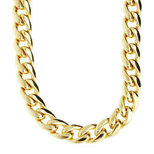 Iced Out Bling CMD CUBAN CHAIN - 10mm gold