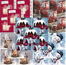 Me to You Christmas Cards Packs of 10 - Variety of 10 Xmas Card Pack Tatty Teddy
