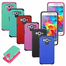 For Samsung Galaxy Grand Prime G530 Hybrid ShockProof Protective Hard Case Cover