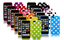 New Polka Dot TPU Silicone Gel Skin Cover Case for Apple iPhone 5 5S - 8 Colors
