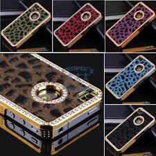New Cristal Diamond Leopard design hard back case cover For Apple iPhone 4S 4G 4