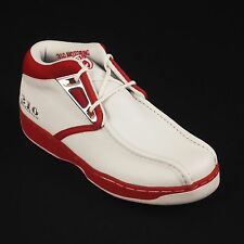 310 MOTORING  BOYS WHITE/ RED SOUMO SHOES LEATHER UPPER STYLE # 31804L