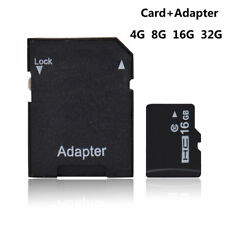 Micro SD TF Flash Memory Card with Free SD Adapter 100% Real Capacity 4GB-32GB
