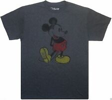 Disney Mickey Mouse Retro Vintage Distressed T-Shirt S M L XL 2XL NEW TEE Shirt
