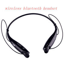 Universal Bluetooth Wireless Stereo Neckband Headsets Earphone for iPhone HTC LG