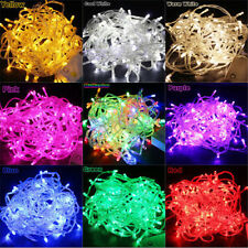 10M 100 LED Christmas Tree Fairy String Lights Party Lamp Xmas Decor Waterproof