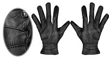 MENS THINSULATE LEATHER GLOVES SOFT FLEECE LINED WINTER WARM GLOVES