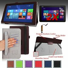 "For ASUS Transformer Book T100CHI 10.1"" Smart Case Cover Stand+2 Films + Stylus"