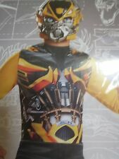 Kids  Transformers Bumblebee Jumpsuit Boys Halloween Costume S M L 6 7 8 10 12