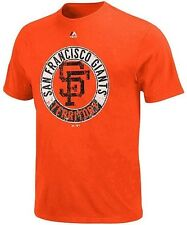 San Francisco Giants Majestic Generating Wins Mens Orange Shirt Big & Tall Sizes