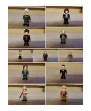 doctor who character building micro figures doctor 1 2 3 4 5 6 7 8 9 10