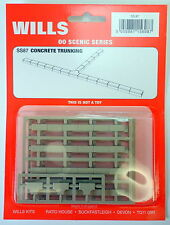 New Wills Scenic CONCRETE TRUNKING SS87  OO GAUGE