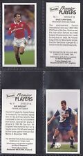 TREBOR BASSETT - FOOTBALL PREMIER PLAYERS 1995 (NUMBERS 01-25) SELECT YOUR CARD.