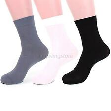 10 Pairs Men Boy's Short Bamboo Fiber Socks Stockings Soft Warm Middle Socks A43