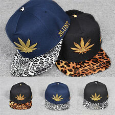 New Unisex Men Fashion Bboy Brim Adjustable Baseball Cap Snapback Hip-Hop Hat