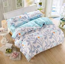 Tree Bird Single Double Queen King Size Bed Set Pillowcases Quilt Duvet Cover