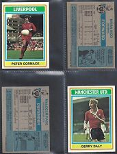 TOPPS - FOOTBALL 1976 BLUE BACK (NUMBERS 181-210) PLEASE SELECT YOUR CARD.