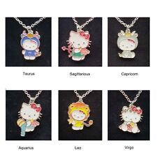 Hello Kitty Zodiac Star Sign Necklace by Sanrio for Avon - Boxed or unboxed