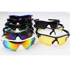 1x Outdoor Sport Cycling Bike Riding Sun Glasses Eyewear Goggle UV400 Lens FKS