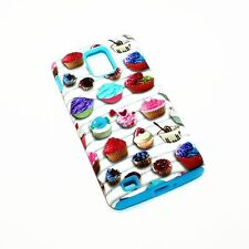 Cute Mini Cupcakes Hybrid ShockProof Phone Cover Case For Samsung Infuse 4G I997