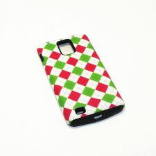 Light Checks Pattern Hybrid ShockProof Cover Case For Samsung Infuse 4G I997