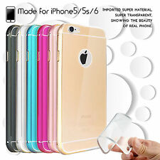 NEW Luxury Aluminum Ultra-thin Metal Case Cover for Apple iPhone 5 5s 6 LTA SE