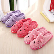 Unisex Cute Sheep Winter Warm Soft Antiskid Indoor Home Slippers Novelty 25