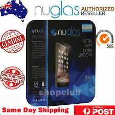 GENUINE NUGLAS Tempered Glass Screen Protector for iPhone X 4 5s/5c 6s 7 8 Plus