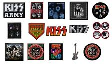 KISS - OFFICIAL SEW ON PATCH logo patches army icons sonic boom rock n roll
