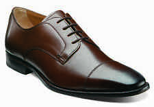 Florsheim Sabato Cap Mens Brown Leather Dress Lace Up Comfort Trendy Oxford Shoe