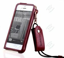 7 Colors Luxury Good Quality Leather Case Pouch Cover For APPLE iPhone 5 5S 5C