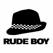 RUDE BOY (SKA jamaica reggae skank dance poster uk punk two tone music) T-SHIRT