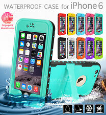 Premium Waterproof Shockproof Snow Proof Heave Duty Case Cover for iPhone 6 Plus