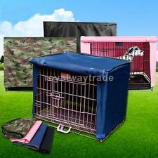 "Pet Cat Dog Crate Cage Kennel Travel Cover Length 18""/23""/29""/36"" Size S/M/L/XL"