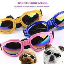 Pet Dog Sunglasses Goggles Eyeglasses Eye UV Wind Water Protection Fashion Cool