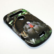 Wild Turkey Hybrid ShockProof Phone Cover Case For BlackBerry Bold 9900 / 9930