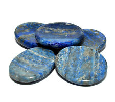 40mm Blue Lapis Lazuli Worry Stone Natural Crystal Reiki Healing Mineral