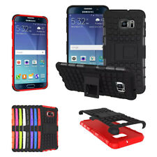 Hybrid Impact Rugged Armor Hard TPU Rubber Case Cover Stand for Samsung Galaxy