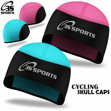 Ladies Cycling Skull Cap Winter Under Helmet Cycle Windstopper Thermal One Size