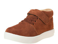 LITTLE BLUE LAMB Shoes HI-Top Sneaker trainers 7123 Suede brown new