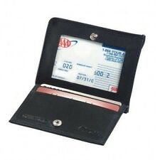 Winn International Harness Cowhide Leather Magnetic Money Clip, Card Slots